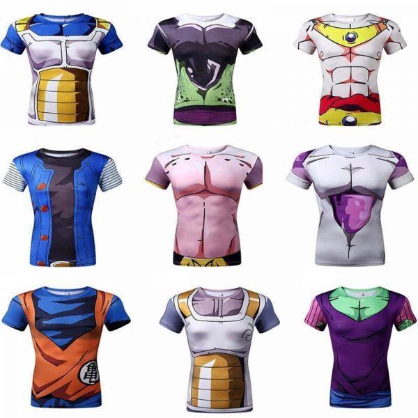 Camisetas Dragon Ball Z Anime