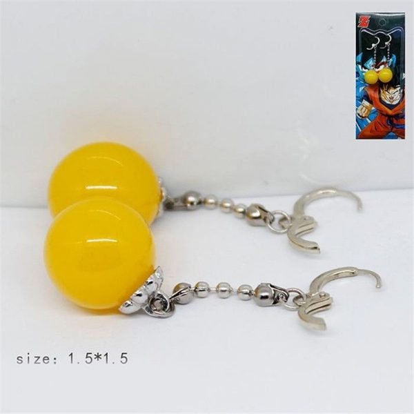 Aretes Dragon Ball Z