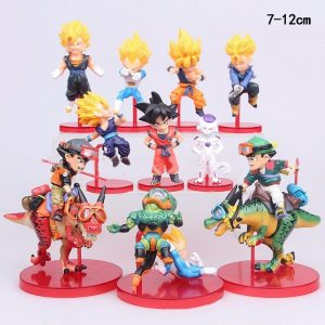 10 Figuras Coleccionables Dragon Ball Z