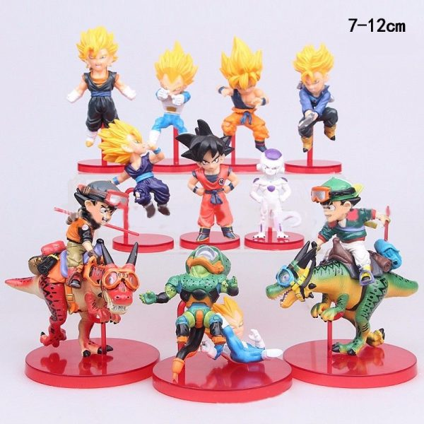 10 Figuras Coleccionables Dragon Ball Z