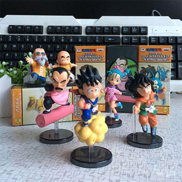 6 Figuras Coleccionables Dragon Ball