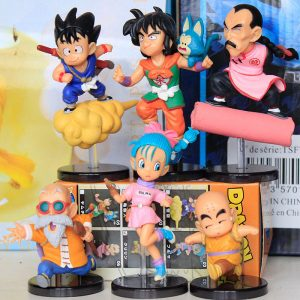 6 Figuras Coleccionables Dragon Ball