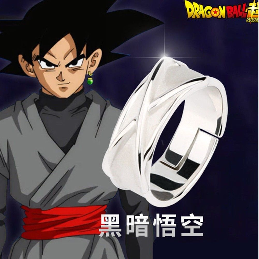 Anillo de Plata Dragon Ball Z Goku