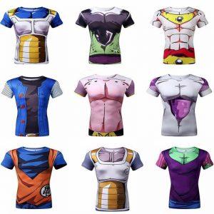 Camisetas Dragon Ball Z Anime